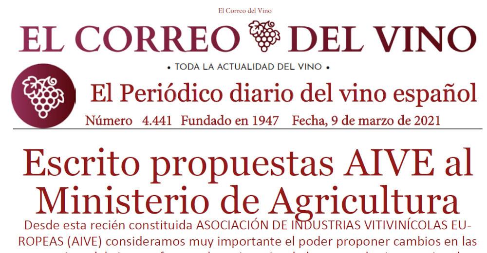 Imagen noticia Correo del Vino